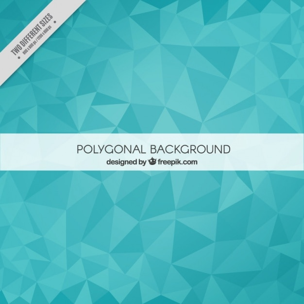 Blue geometric background Vector | Free Download