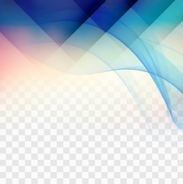 blue geometric shapes on transparent background vector free download