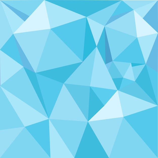 Blue geometry textured illustration\ background