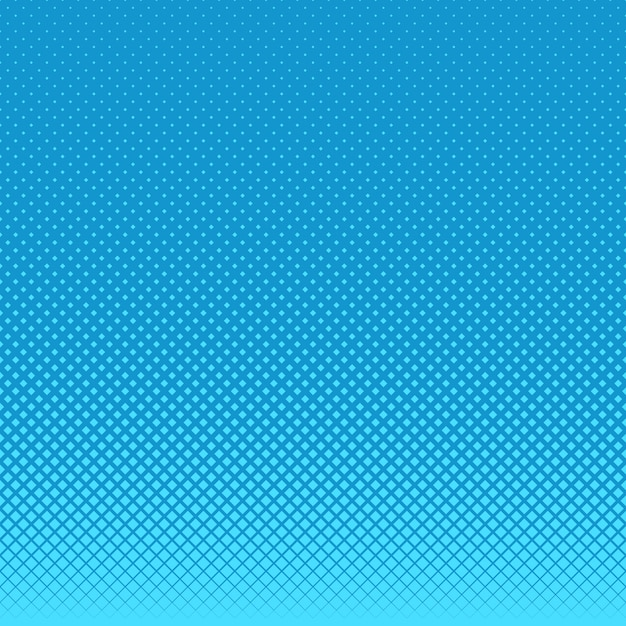 Blue halftone dots background Free Vector