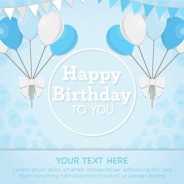 Blue Birthday Cards justsingit – Blue Birthday Cards