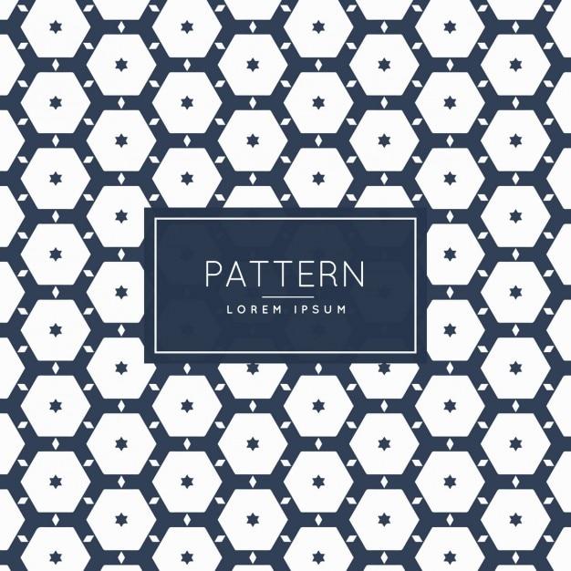 blue hexagonal pattern vector - photo #32