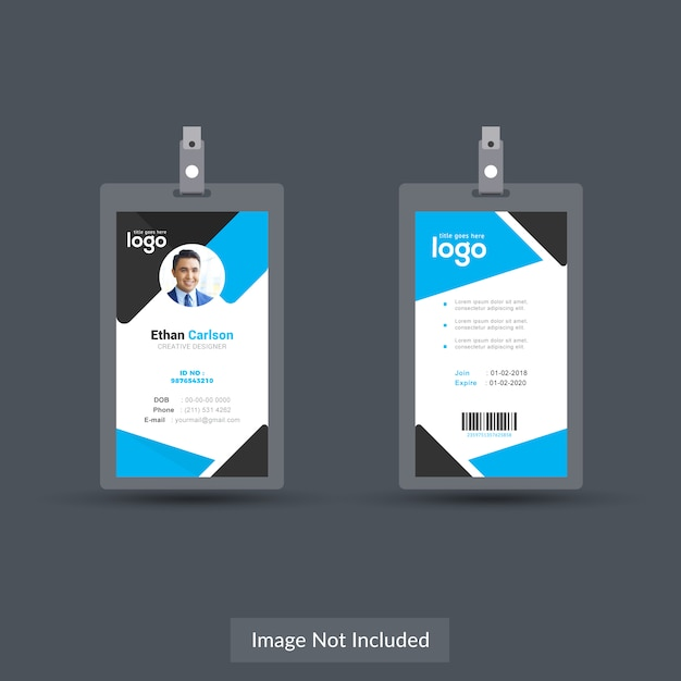 Id Card Designs Vector