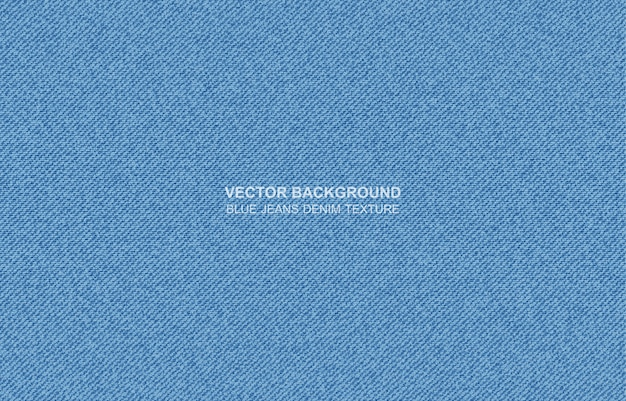 Blue jeans denim texture Premium Vector