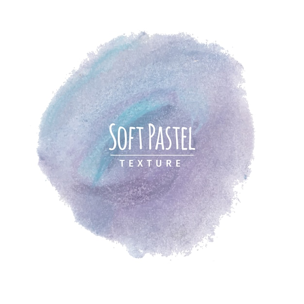 Blue and lavender soft pastel chalk drawing Free Vector