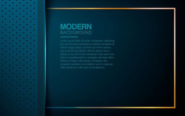 Blue luxury textured layers background Premium Vector