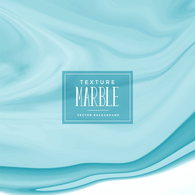 Blue marble texture surface background Free Vector