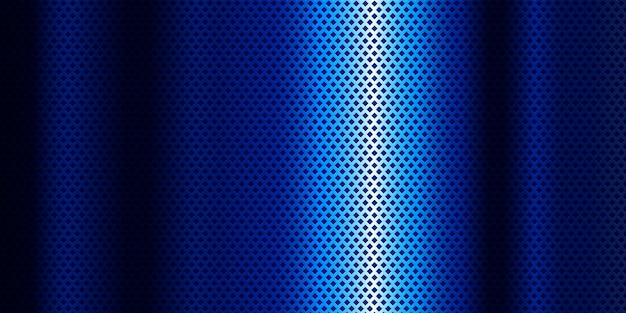 Blue metallic background with blue gradient Free Vector
