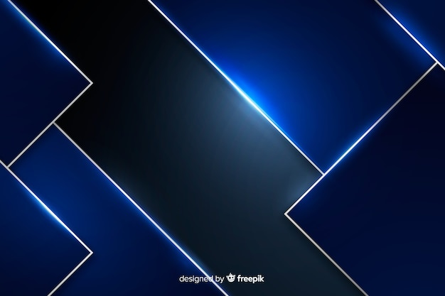 Blue metallic texture background Free Vector