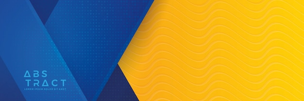 Abstract Blue Orange Wave Design Background |Orange And Blue Vector Background