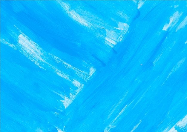 Blue paint Free Vector