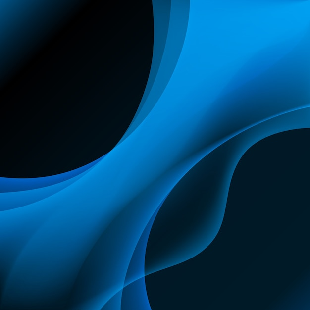 Blue plasma abstract background Free Vector