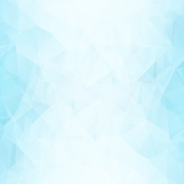 Blue polygonal shapes background Free Vector