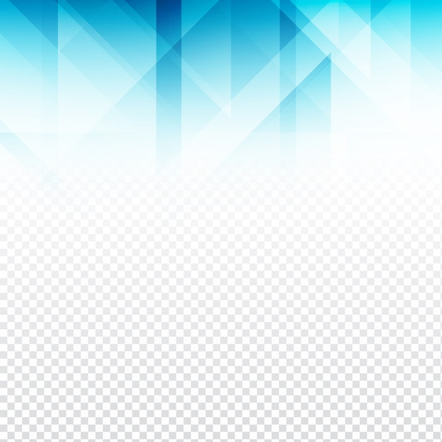 blue polygonal shapes with transparencies vector