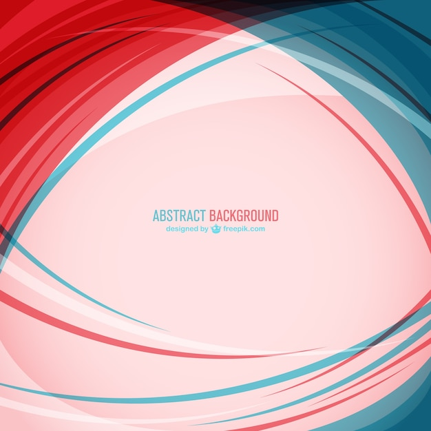 Blue And Red Abstract Background Vector Free Download
