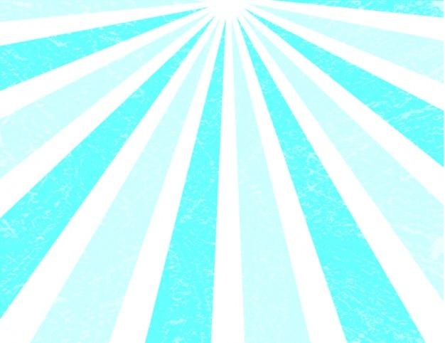 Blue retro sunbeam background