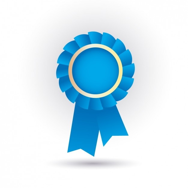 free vector blue ribbon icon free vector blue ribbon icon