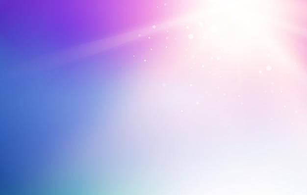 Cielo blu e astratto sfondo luminoso flash. Vettore gratuito