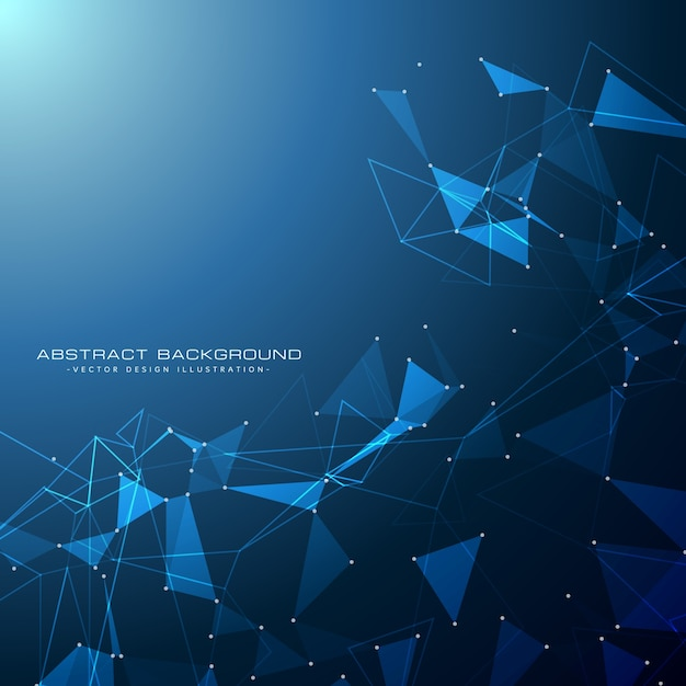 Blue Technology Digital Background Vector