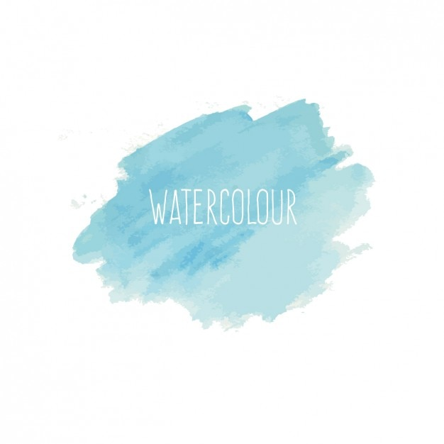 Blue Watercolor Background Vector Free Download