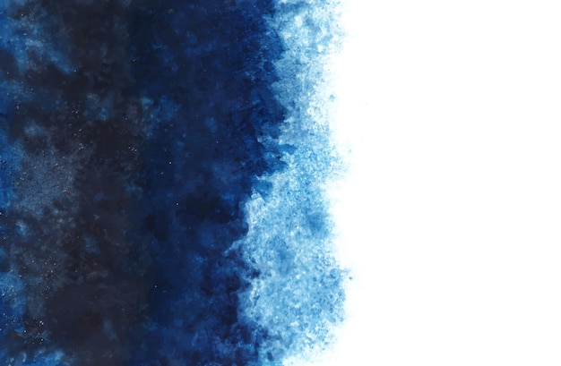 Sfondo blu acquerello Vettore gratuito