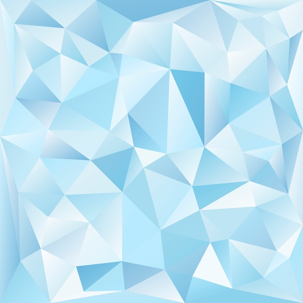 Blue and white crystal textured background Free Vector