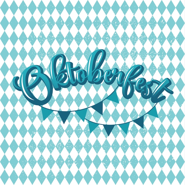 Blue and white header with scribble pattern Premium Vector