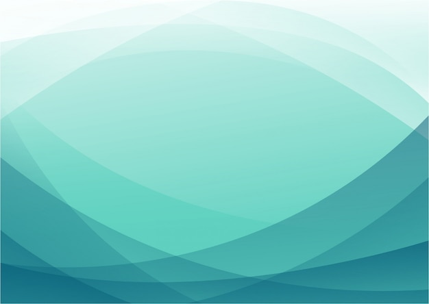 Blue white modern abstract background Premium Vector