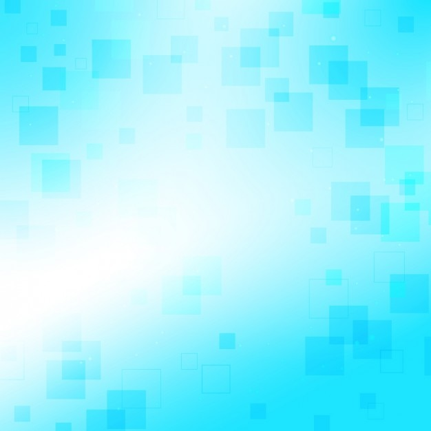 Blue with small squares background Free Vector