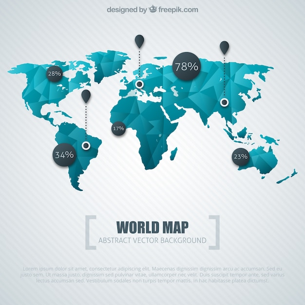 Blue word map infographic vector free download blue word map infographic free vector publicscrutiny