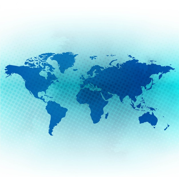 Blue world map background vector free download blue world map background free vector gumiabroncs