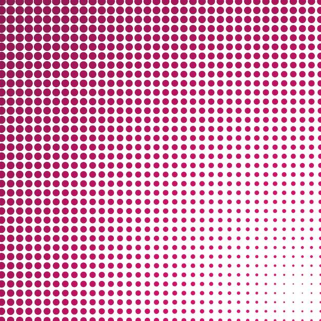光blue円で構成されるベクトル図。あなたのビジネスのための点のグラデーションデザイン。色のついた斑点を持つハーフトーンスタイルの創造的な幾何学的背景。 無料ベクター