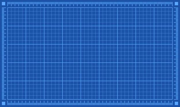 Premium Vector | Blueprint background.