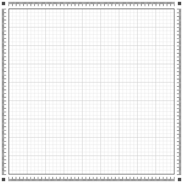 Blueprint background Premium Vector