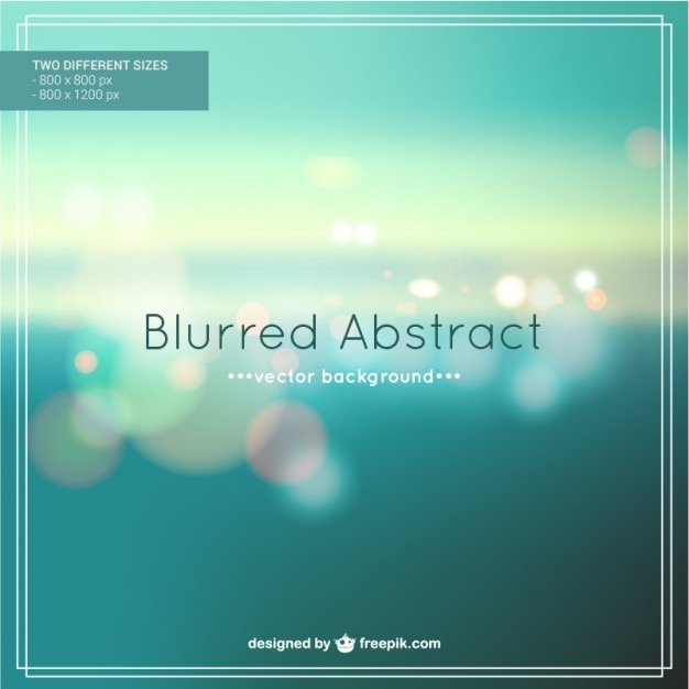 Blurred abstract background  Free Vector