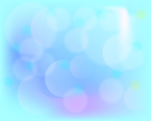 Blurred background in blue and purple tones. Free Vector