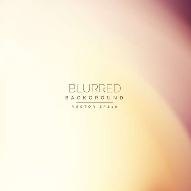 Blurred background, warm tones Free Vector