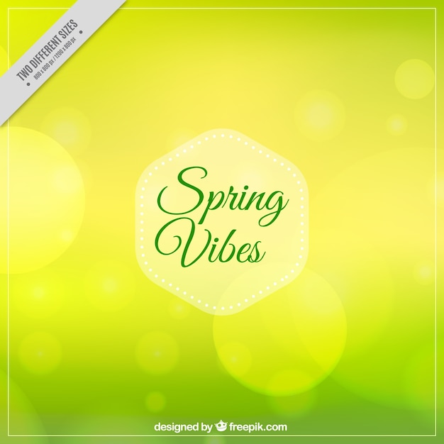 Blurred background with bokeh effect for\ spring