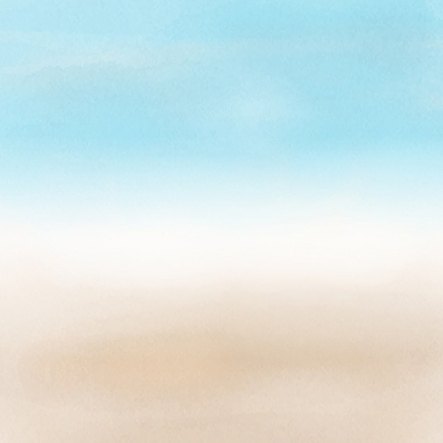 Blurred beach landscape