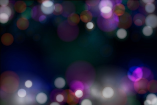 Blurred bokeh background Free Vector