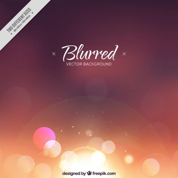Blurred bokeh defocused background Premium Vector