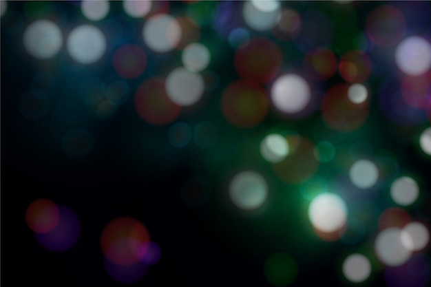 Blurred bokeh wallpaper Free Vector
