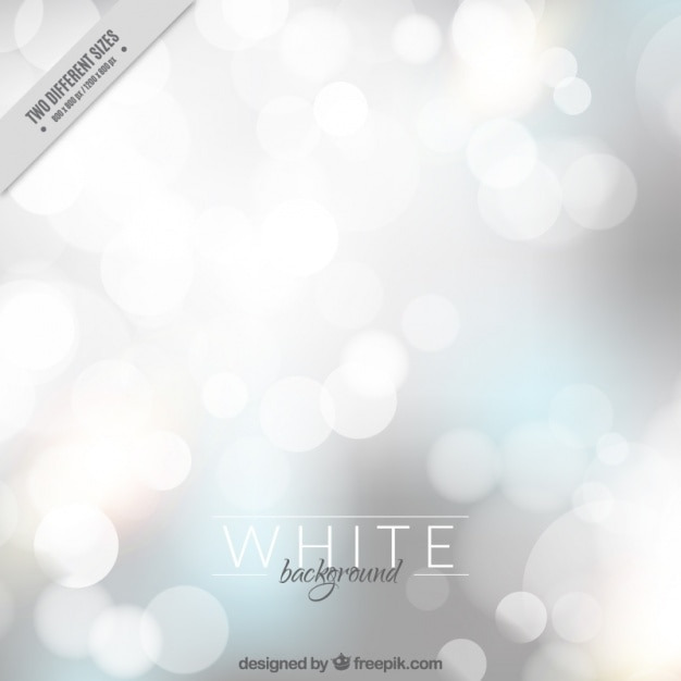 Blurred bright bokeh background  Free Vector