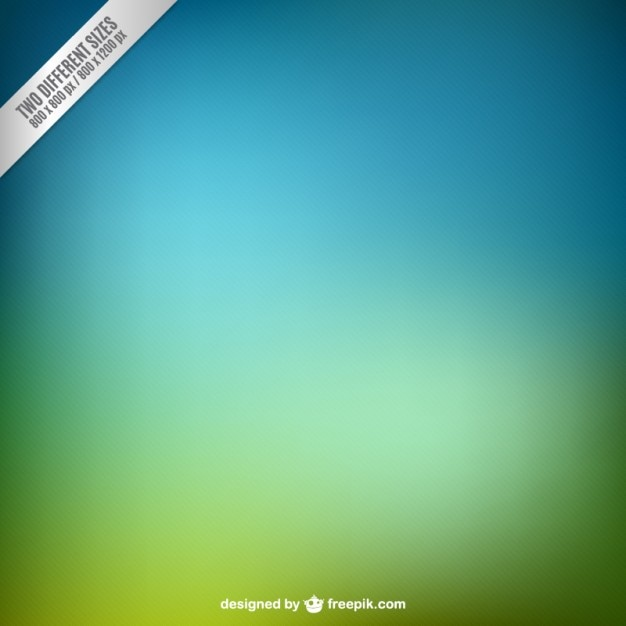 Blurred green and cyan background Free Vector