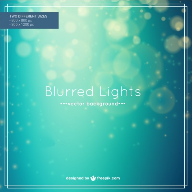 Blurred lights background Free Vector