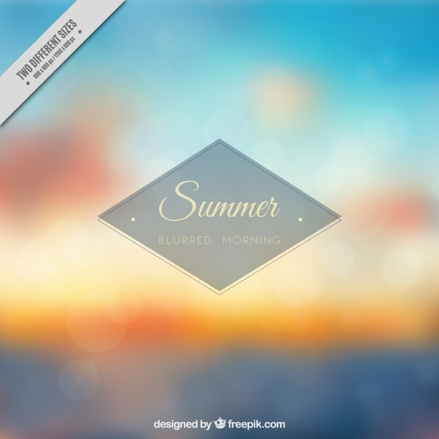 Blurred summer landscape background