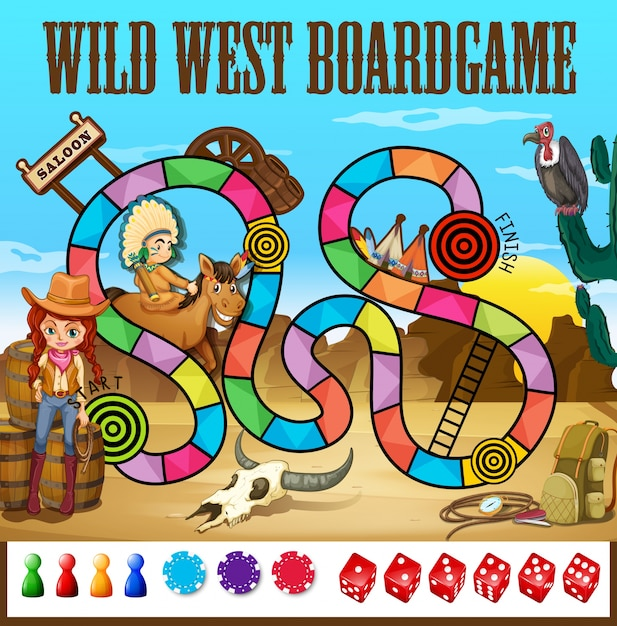 Board game Free Vector