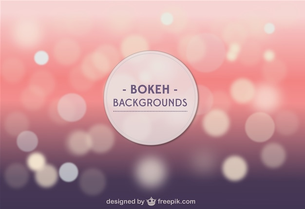 Bokeh Background Vector Bokeh Background Template