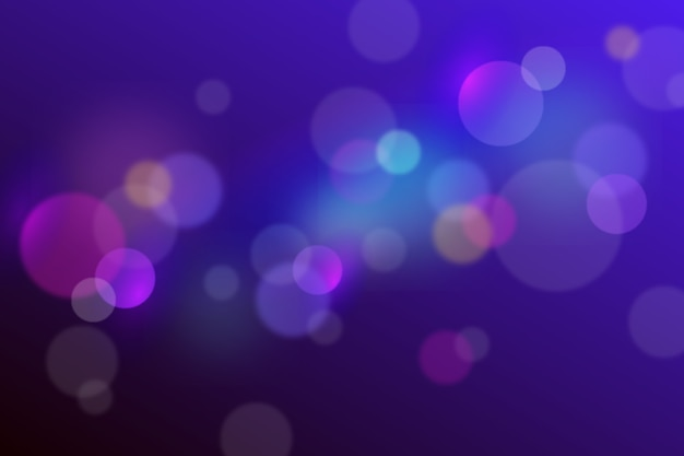 Bokeh background with focus effect Free Vector
