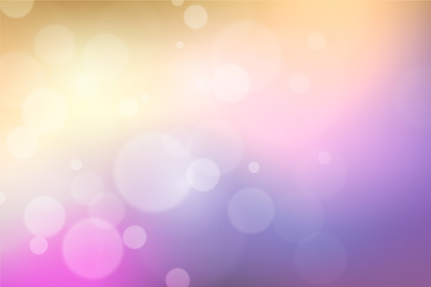 Bokeh defocused screensaver Free Vector